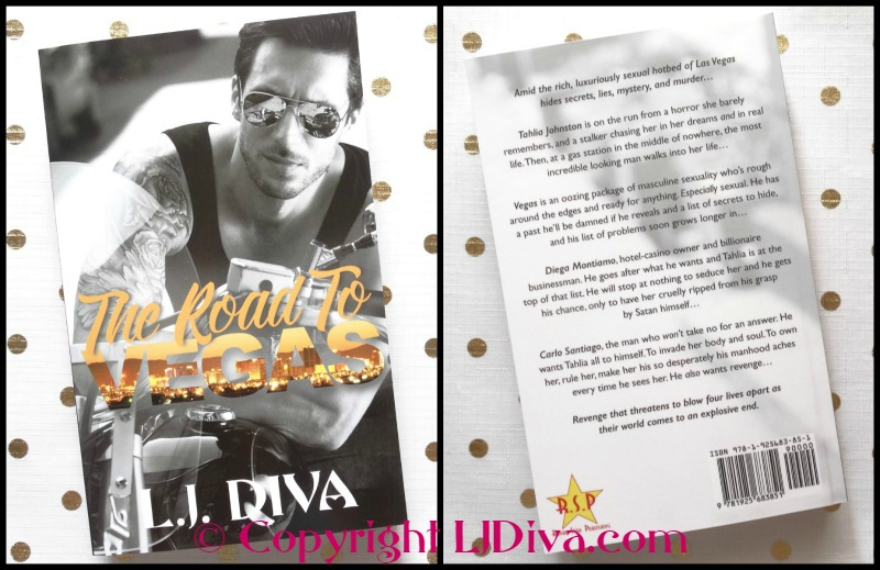 A closer look at the paperback of the new The Road To Vegas